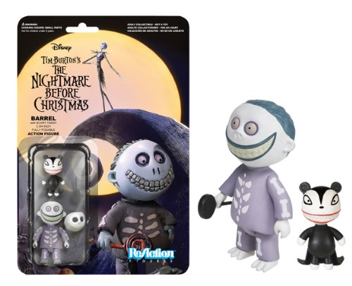 Funko Nightmare Before Christmas Barrel ReAction Figure - 1