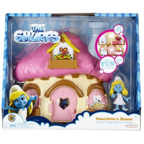 Smurfs Mushroom House with Smurfette