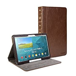 Gmyle Book Case Vintage for Samsung Galaxy Tab S 10.5 - Crazy Horse Pattern