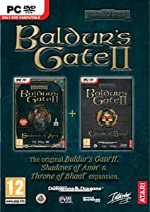 Baldur's Gate 2 and Throne of Bhaal Expansion - Double Pack (PC DVD) [Importación inglesa]