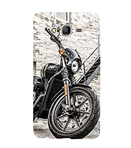 Luxurious Bike 3D Hard Polycarbonate Designer Back Case Cover for Samsung Galaxy On5 Pro :: Samsung Galaxy ON 5 Pro