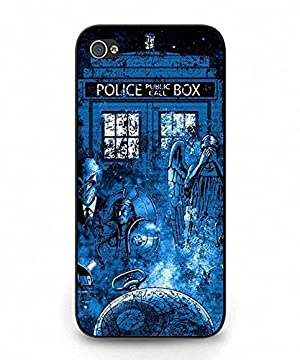 Iphone 5c Case, MAKEUPCASES 060 Stylish Doctor Who Picture Printing Hybrid Well Designed Slim Fit Case Cover for Iphone 5c