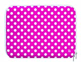 Pat Says Now Sleeve for 12-13.3 inch Laptop - Pink Polka Dot