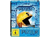 Pixels (2015) 3D - Limited Edition Lenticular Steelbook (Blu-ray 3D + Blu-ray) Blu-ray