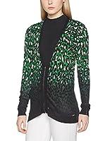 Guess Chaqueta Punto Modesta (Verde / Negro)