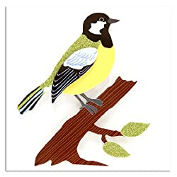 Martha Stewart Crafts Sticker Bird and Branch Green By The Each