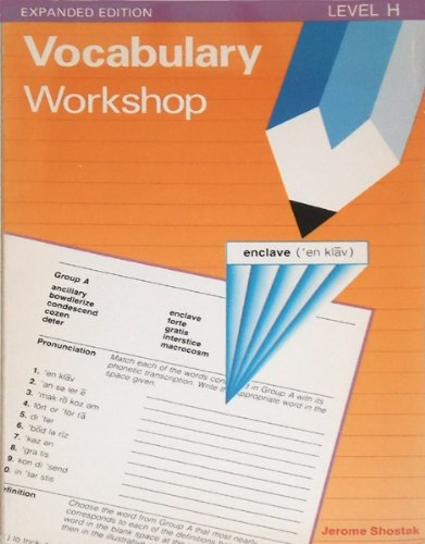 Vocabulary Workshop, Level H