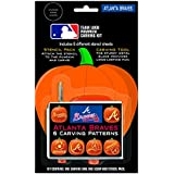 MLB Pumpkin Carving Kit, 6 Stencils, Orange