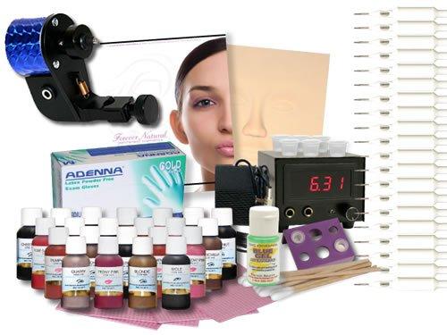 Permanent Make up Rotary Tattoo Machine Complete Kit