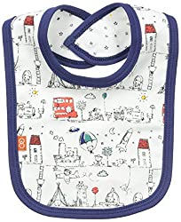 Magnificent Baby Baby-Boys Reversible Bib, Tally HO, One Size