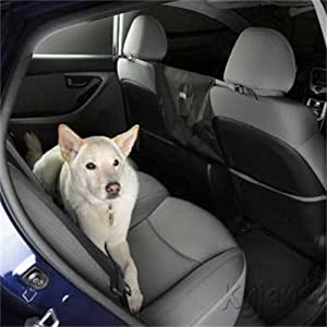 Kyjen 2480 Front Seat Barrier Dog Auto Seat Barrier, Large, Black