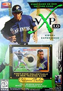 Alex Rodriguez CD Rom trading card baseball card (Seattle Mariners) 1997 Donruss VXP... by Hall+of+Fame+Memorabilia