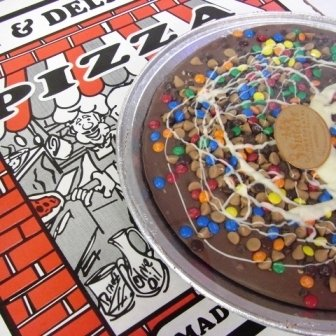 Chocolate Everything Pizza