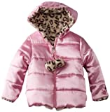 Pacific Trail - Kids Baby-Girls Infant Faux Fur Reversing To Satin