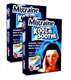 Kool 'n' Soothe Migraine Cooling Strips 4 Strips-PACK OF 2 [Personal Care]