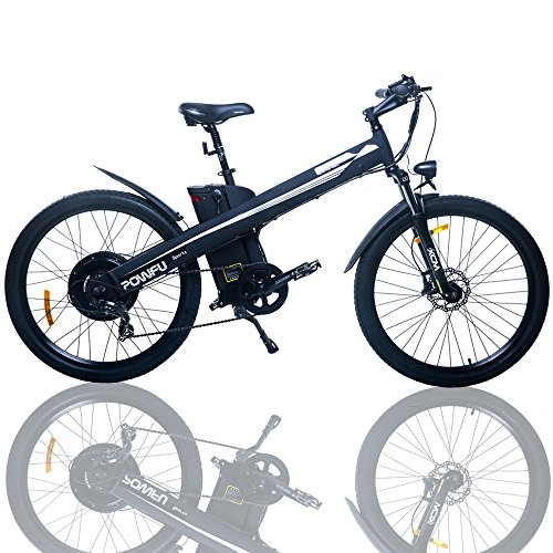 For Sale! E-go Electric E Bike Hydraulic Brake 1000w 48v13ah Black Pedal Assist Moped
