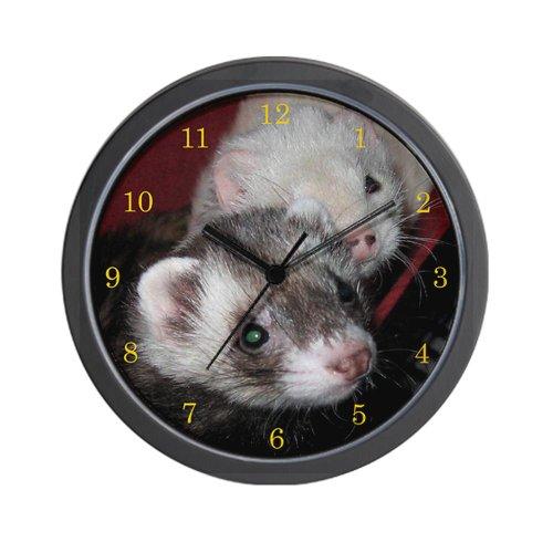 CafePress - Loveable Ferrets Wall Clock - Unique Decorative 10