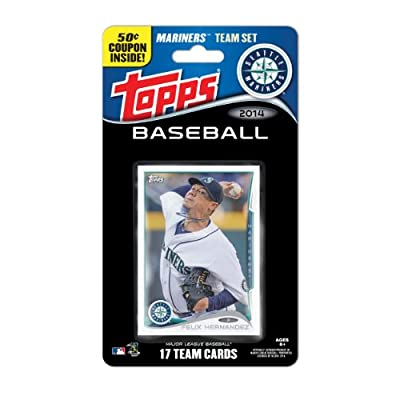 MLB Seattle Mariners 2014 Team Set Trading Card