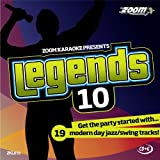 Zoom Karaoke CD+G - Legends Volume 10 - 19 Jazz/Swing Tracks [Card Wallet] Zoom Karaoke