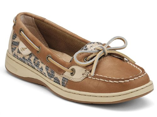 Sperry Top Sider Angelfish Womens SZ 8.5 Brown Shoes