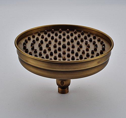 Rozin Round 8-inch Rainfall Shower Head Antique Brass (Shower Head Antique Brass compare prices)