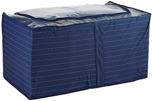 WENKO 4376210100 Contenitore Jumbo Comfort, Polietilenica, 91 x 48 x 53 cm, Blu