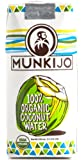 Munkijo 100% Organic Coconut Water 11.2-Ounce (Pack of 12) -- NOT From Concentrate