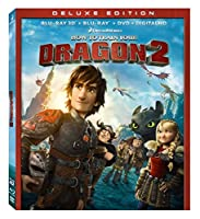 How to Train Your Dragon 2 [Blu-ray 3D + Blu-ray + Digital HD] from 20th Century Fox