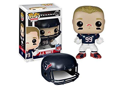 "Funko Pop NFL Wave 1: J.J. Watt Texans Vinyl Action Figure Collectible Toy 3.75"" PRS"