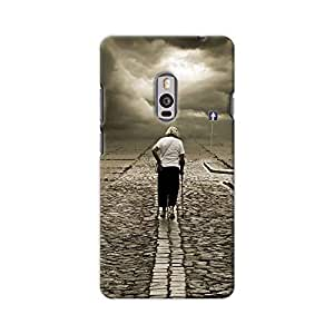 ArtzFolio Lost Time Is Never Found Again : OnePlus 2 Matte Polycarbonate Original Branded Mobile Cell Phone Designer Hard Shockproof Protective Back Case Cover Protector