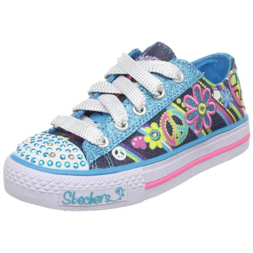 Picture of Skechers Twinkle Toes S Lights Groovy Baby Lighted Sneaker (Little Kid/Big Kid) B002U0KZ5S (Skechers)