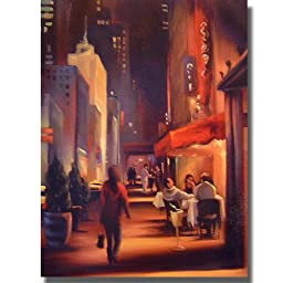 27th Avenue by Carol Jessen Premium Stretched Canvas (Ready-to-Hang)