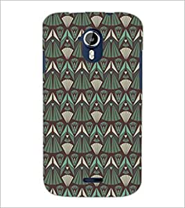 PrintDhaba Pattern D-5213 Back Case Cover for MICROMAX A116 CANVAS HD (Multi-Coloured)