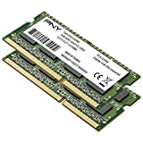 PNY Performance 16GB Kit DDR3 1600MHz CL11 1.35/1.5V Notebook (SODIMM) Memory MN16GK2D31600LV