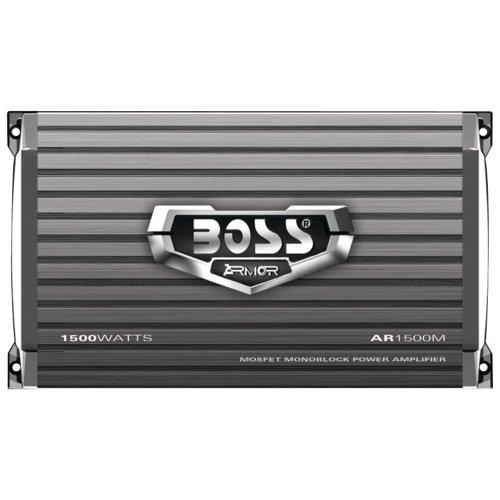 New Boss Audio Ar1500M 1500 Watt Mono A/B Car Amplifier Power Amp Mosfet +Remote