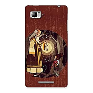 Ajay Enterprises Old Angel Back Case Cover for Lenovo Vibe Z K910