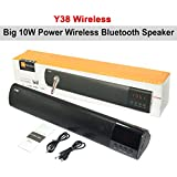 Y38 10W Power Portable Wireless Bluetooth Speaker Mini Stereo Audio Sound With Microphone Speakers For Mobile...