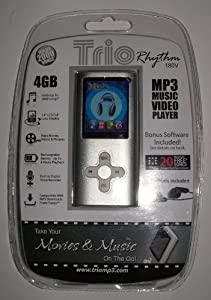 Trio Rhythm 180v 4gb mp3 Music Video Player