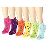 12 Pack Women's Ankle Socks Assorted Colors Size 9-11