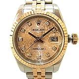 ロレックス デイトジャスト レディース 179171G 10Pダイヤ 腕時計 中古