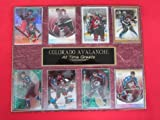 Colorado Avalanche All Time Greats 8 Card Plaque at Amazon.com