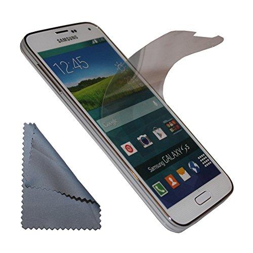 2x Displayschutzfolie Displayfolie Folie Schutzfolie screenprotector LCD protector für Samsung Galaxy Trend GT-S7560 / S Duos GT-S7562 / Plus GT-S7580 / S Duos 2 GT-S7582 - 2er Set