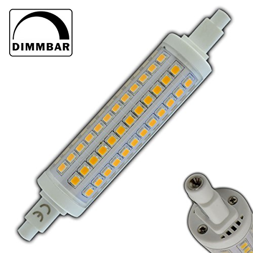 R7s LED 10 Watt dimmbar - warmweiß - 3000K thumbnail