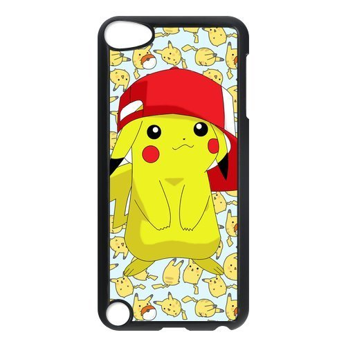 Customize Hard Plastic Shell Pokemon Pikachu Back Case Suitable For iPod Touch 5th Generation (Cool Ipod 5th Generation Cases compare prices)