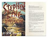 echange, troc Stephen (1947-) King - Desperation / Stephen King