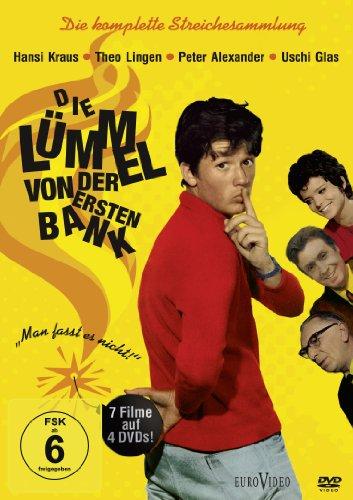 Die Lümmel von der ersten Bank - Die komplette Streichesammlung [4 DVDs]