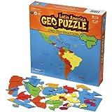 GeoPuzzle Latin America - Educational Geography Jigsaw Puzzle (50 pcs)