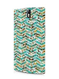 Cover Affair Pattern Printed Back Cover Case for OnePlus One