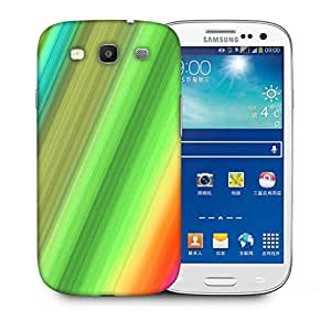 Snoogg Rainbow Power 2400 Designer Protective Back Case Cover For Samsung Galaxy S3