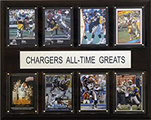 NFL San Diego Chargers All-Time Greats Plaque by C&I Collectables